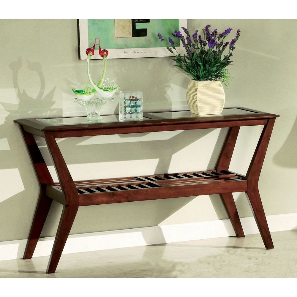 Ellen Console Table Dark Cherry - Homes: Inside + Out