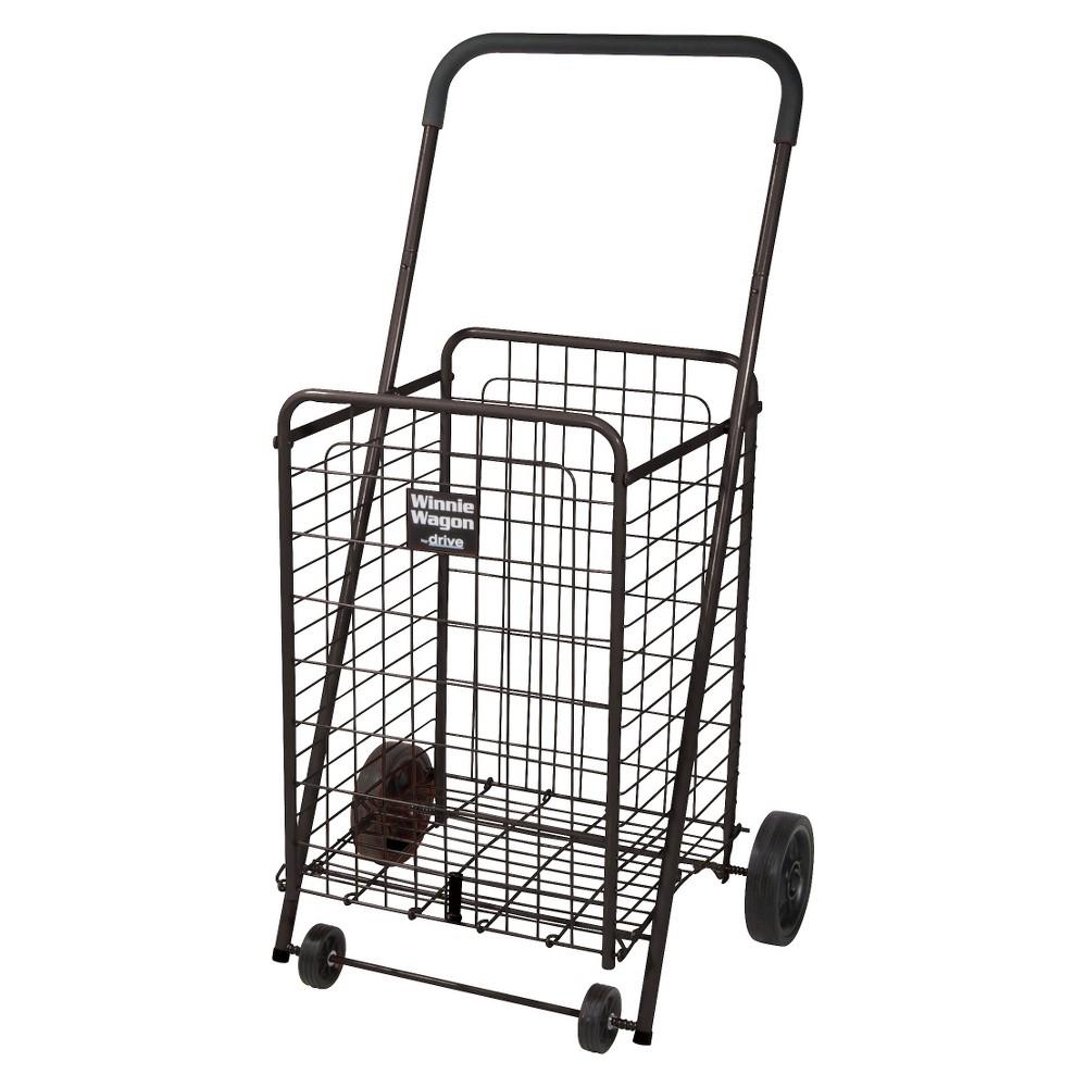 Drive Medical Winnie Wagon Cart - Black