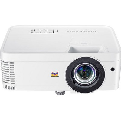 Viewsonic PX706HD 3D Ready Short Throw DLP Projector - 16:9 - 1920 x 1080 - Front, Ceiling - 1080p - 4000 Hour Normal Mode - 15000 Hour Economy Mode