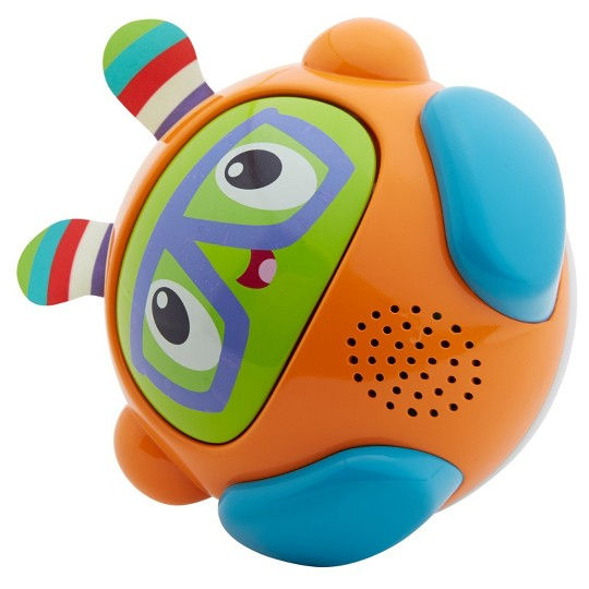 Fisher-Price Bright Beats Spin and Crawl Tumble Ball Franky Beats image number null