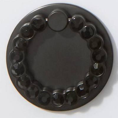 Matte Black/Black Rhinestones