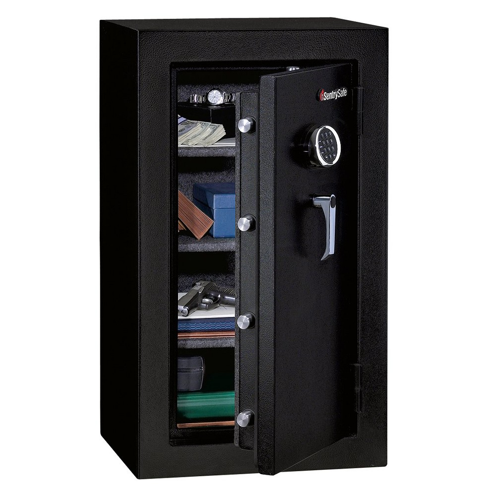 Image of Sentry Safe E-lock and Fire/Water Safe - 4.7 cubic feet, Black