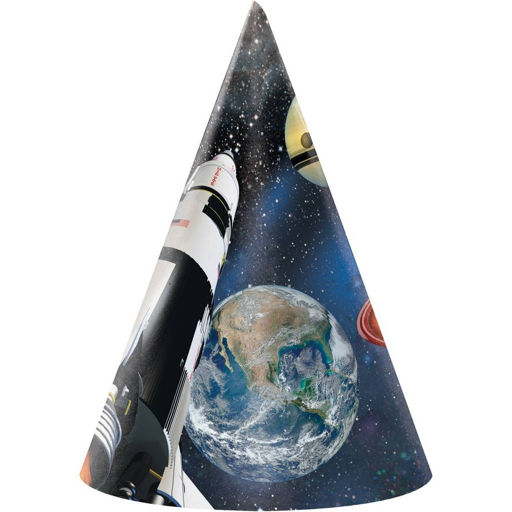 Image of 24ct Space Blast Party Hats