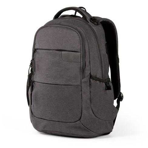 "SWISSGEAR 18.5"" Laptop Backpack - Gray - image 1 of 4"