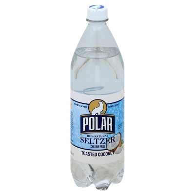 Polar Toasted Coconut Seltzer Water - 1 L Bottle