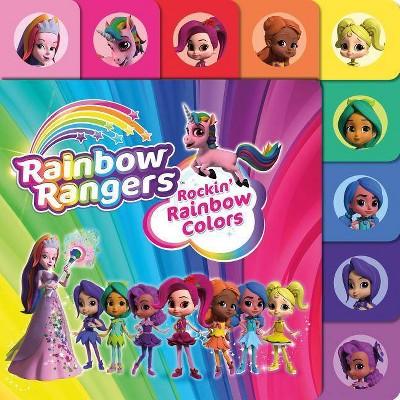 Rainbow Rangers: Rockin' Rainbow Colors - by  Summer Greene (Board Book)