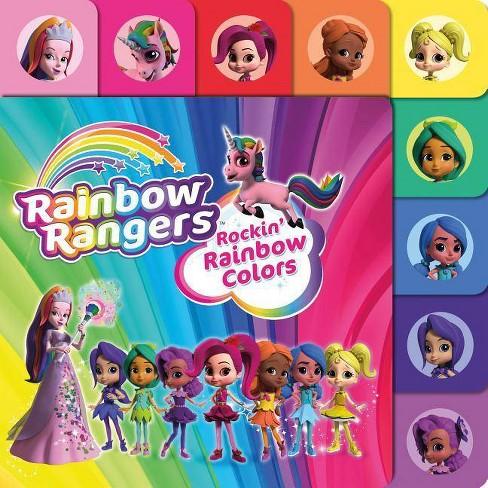 Rainbow Rangers: Rockin' Rainbow Colors - by  Summer Greene (Board Book) - image 1 of 1