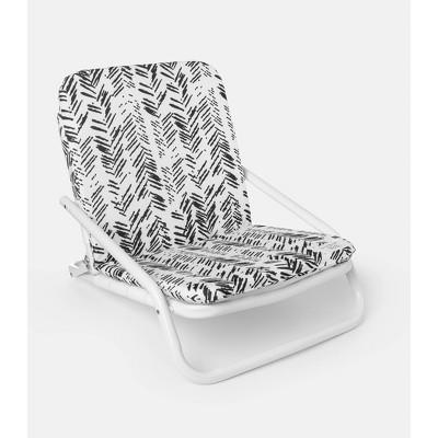 Herringbone Aluminum Outdoor Portable Beach Chair - Local Beach