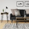 Faux Leather Futon Sofa with Arms Black - Room Essentials™ - image 2 of 4