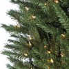 9ft Sterling Tree Company Full New England Pine with 1100 Clear Lights Artificial Christmas Tree - image 2 of 3