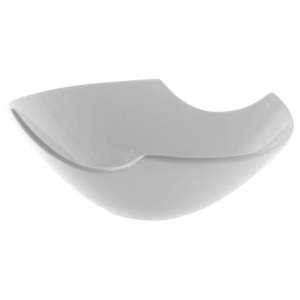 Image of 10 Strawberry Street Whittier Samurai Porcelain Bowl (48oz) Bella White