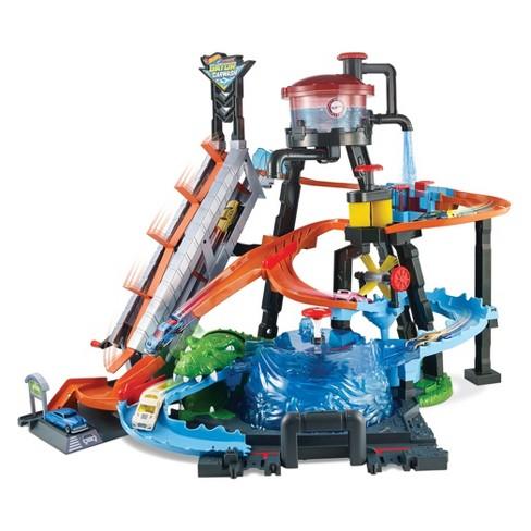 735568ac445 Hot Wheels Ultimate Gator Car Wash Playset   Target