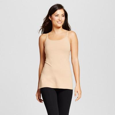 Women's Nursing Cotton Cami - Gilligan & O'Malley™ - Honey Beige XL