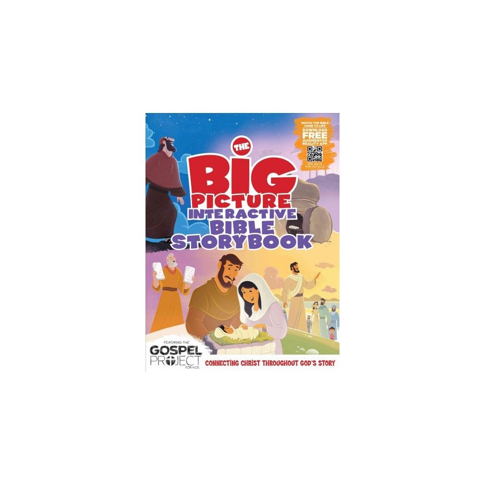 Big Picture Interactive Bible Storybook - (Gospel Project For Kids) (Hardcover)
