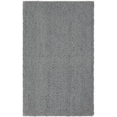 "20""x34"" Loop Memory Foam Accent Bath Rug Gray Mist - Room Essentials™"