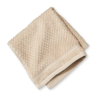 Washcloth Performance Texture Bath Towels And Washcloths Bare Canvas - Threshold™