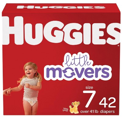 Huggies Little Movers Diapers- (Select Size and Count)