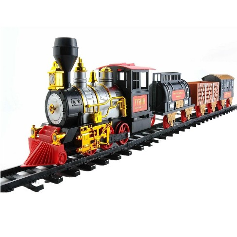 Northlight 20-Piece Battery Operated Lighted and Animated Classics Train Set with Sound - image 1 of 4