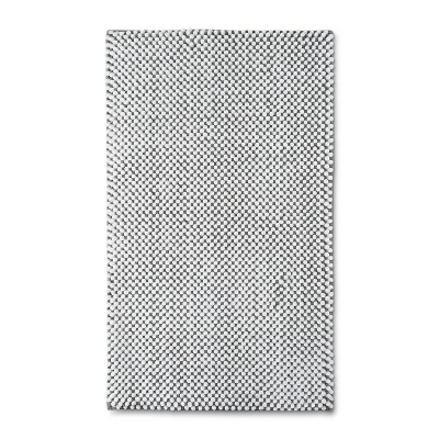 20  x 34  Low Chenille Classic Memory Foam Bath Rug Classic Gray - Threshold™