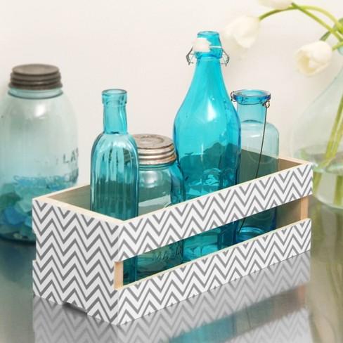 "Con-Tact Brand Creative Covering Multipurpose Shelf Liner - Textured Chevron Gray (18""x 20') - image 1 of 2"