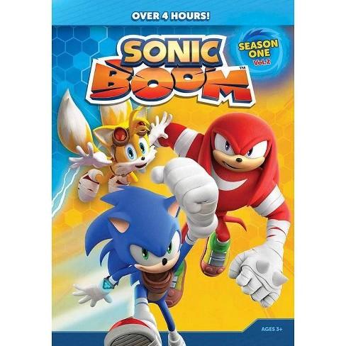 Sonic Boom Season One Volume Two Dvd Target