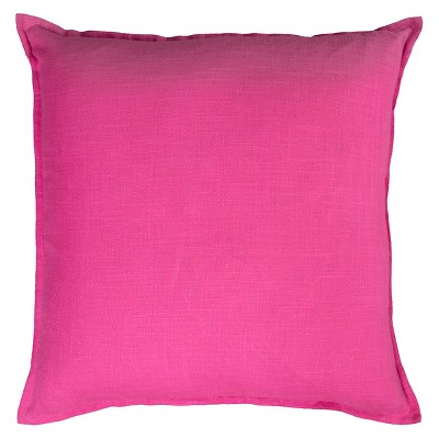 """20""""x20"""" Oversize Solid Square Throw Pillow - Rizzy Home"""