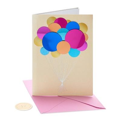 Balloons Birthday Greeting Card - PAPYRUS