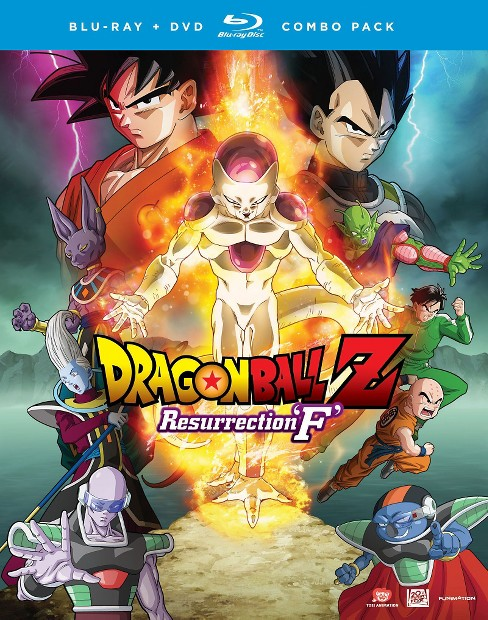 DRAGON BALL Z: RESURRECTION 'F' (BD2, WS, PG-13, SP, DIG) - image 1 of 1