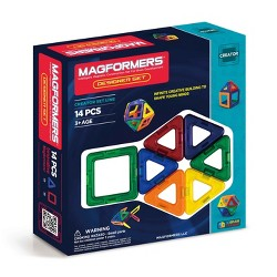 Magformers 14 Piece Rainbow Set