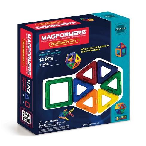 Magformers 14 Piece Rainbow Set - image 1 of 4