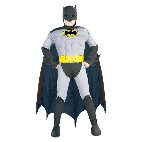 477e3d97b2a76 DC Comics Boys  Batman Classic Muscle Chest Costume M(8-10)   Target