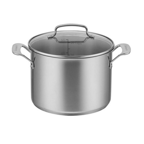 Cuisinart 6qt Stainless Steel Stockpot with Cover - image 1 of 4