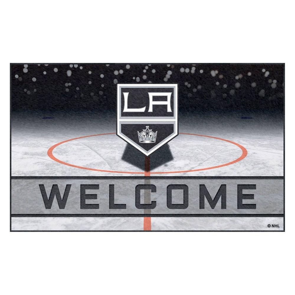 NHL Los Angeles Kings Crumb Rubber Door Mat 18