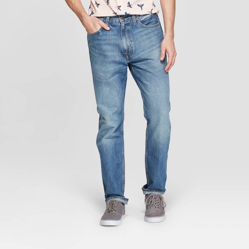 Men's Relaxed Fit Jeans - Goodfellow & Co™ Denim Blue - image 1 of 3