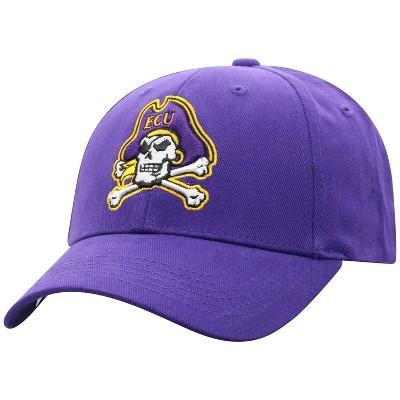 NCAA East Carolina Pirates Men's Structured Brushed Cotton Hat
