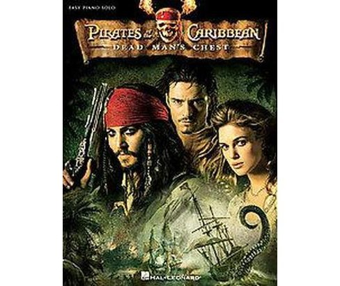 Pirates of the Caribbean: Dead Man's Chest : Easy Piano Solo (Paperback) - image 1 of 1