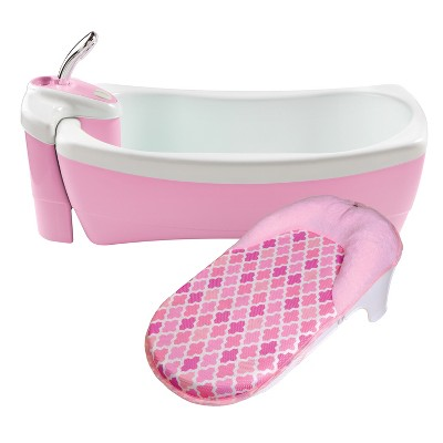 Summer Infant® Lil' Luxuries® Whirlpool, Bubbling Spa & Shower - Pink