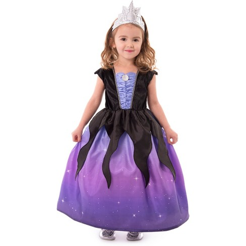 Little Adventures Child's Sea Witch Dress with Soft Crown - image 1 of 3