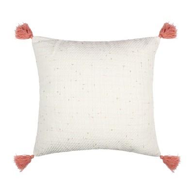 Loretta Gold Slub Decorative Pillow - Levtex Home
