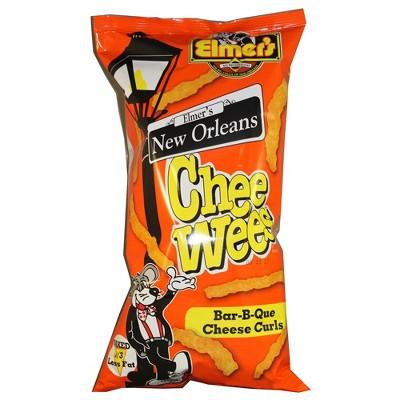 Elmer's New Orleans Chee Wees Bar-B-Que Cheese Curls - 5.5oz