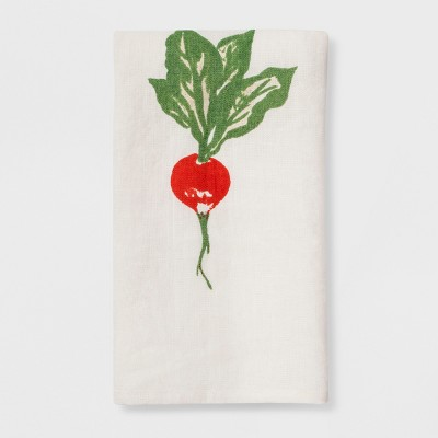 30  x 20  Kitchen Tea Towel Radish - Smith & Hawken™