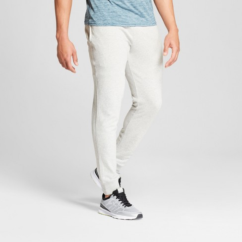 Men's French Terry Pants - C9 Champion® Classic Gray Heather - image 1 of 2