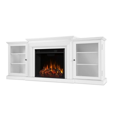 Real Flame Frederick TV/media Stand Fireplace White