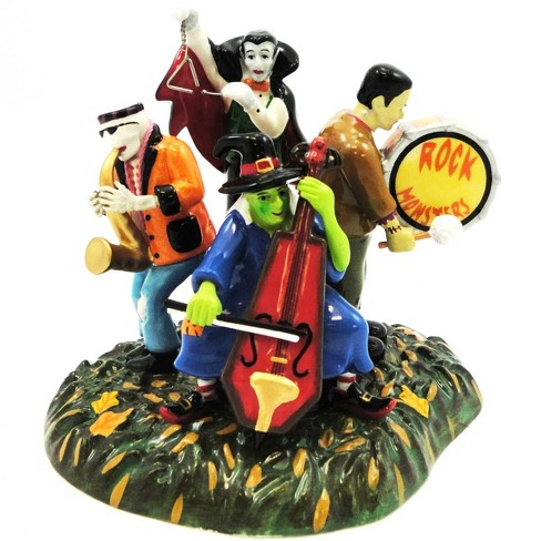 Dept 56 Accessories Monsters Rock Band Village Halloween Witch Dracula  -  Decorative Figurines - image 1 of 2