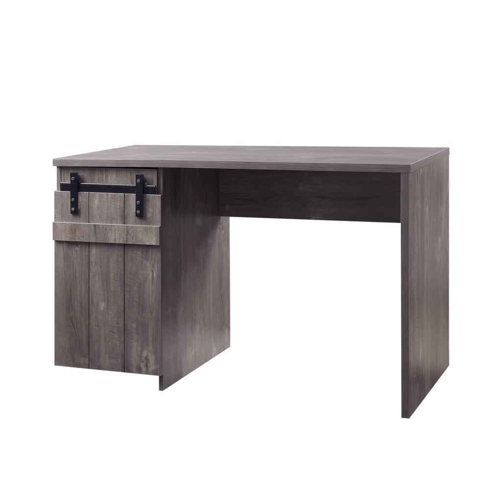 Bellarosa Desk Gray Washed - Acme Furniture Bellarosa Desk Gray Washed - Acme Furniture