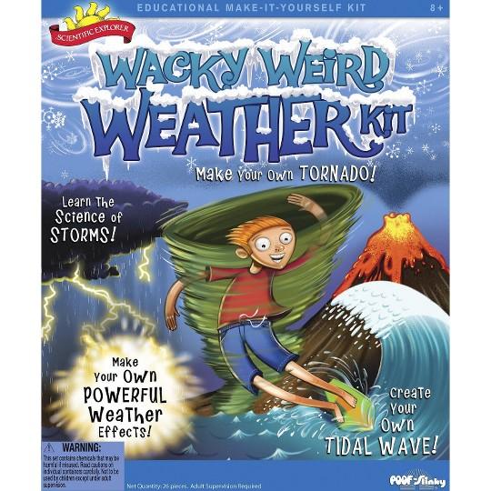 Scientific Explorer Wacky Weird Weather Kit image number null