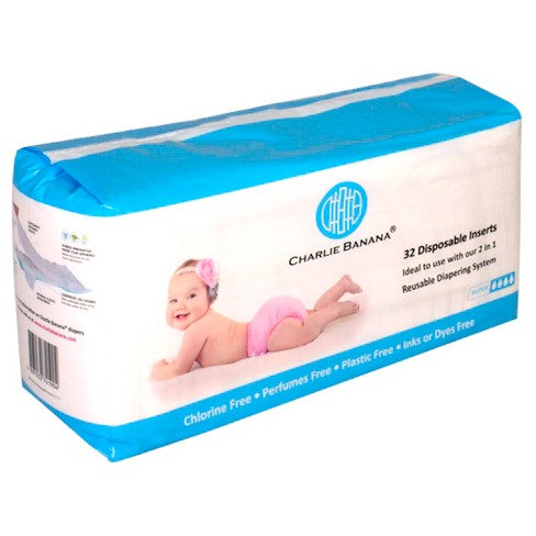 Charlie Banana Disposable Diaper Inserts - image 1 of 4