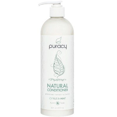 Puracy Citrus & Mint Silicone-Free Natural Hair Conditioner - 16 fl oz