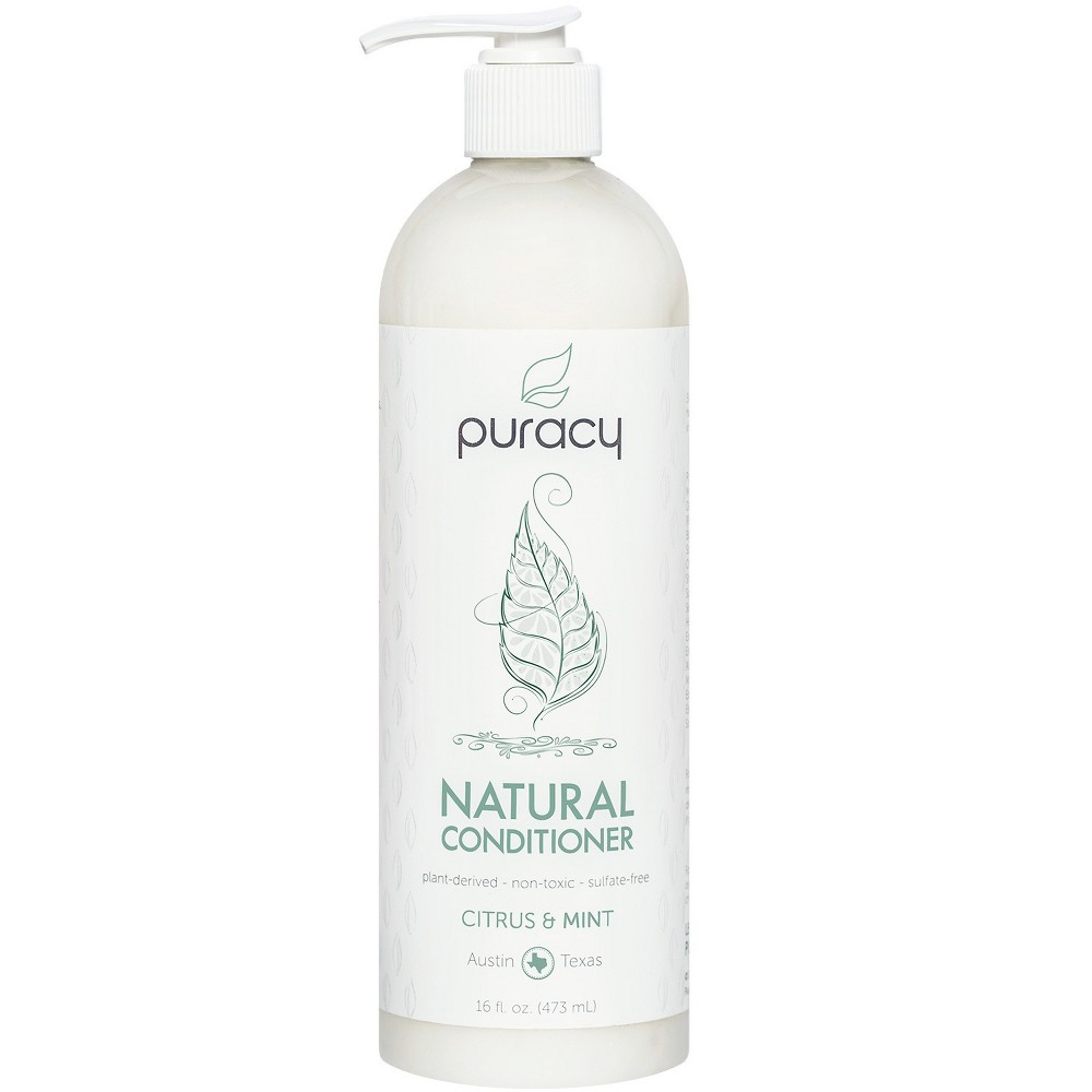 Image of Puracy Citrus & Mint Silicone-Free Natural Hair Conditioner - 16 fl oz