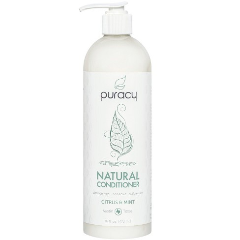Puracy Citrus & Mint Silicone-Free Natural Hair Conditioner - 16 fl oz - image 1 of 4